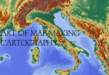 Cartography Art Of Map Making