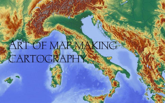 Cartography Art Of Map Making