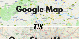 Comparison of Web Mapping Service
