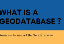 What is a Geodatabase
